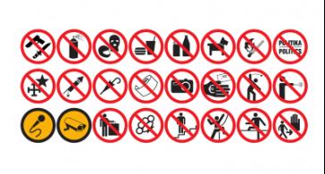 11 dolog, amit nem vihetsz be a stadionokba